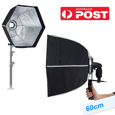 AU STOCK Selens Studio Lighting 60cm Hexagon Softbox With L-Shape Adapter Ring