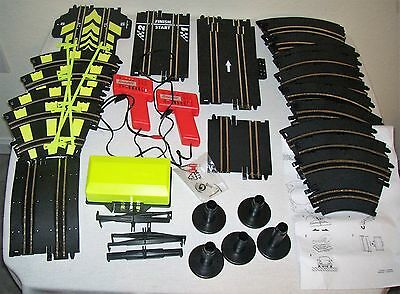 Lot Slot Car Speedtrak TRACKS 1/43 Scale w/ Hand Speed Controllers, Accessories