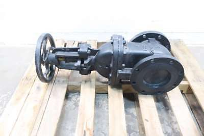 New Milvaco 2885M 6 In 125 Iron Flanged Wedge Gate Valve D568334