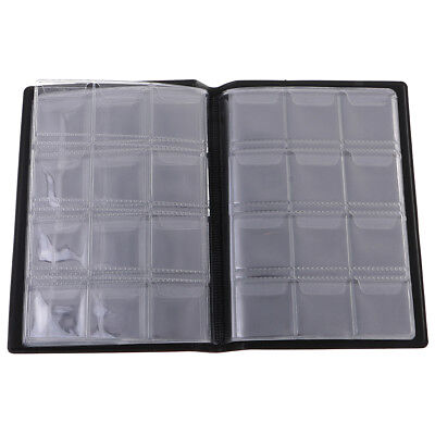 120Pcs Coin Album Holders 10 Pages for Coins Collector Collection Book Blue