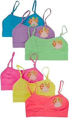 ToBeInStyle Girl's Pack of 6 Seamless Little Princess