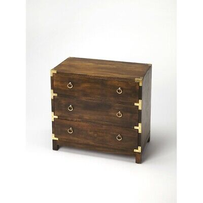 Butler Forster Brown Campaign Chest, Dark Brown - 9337354