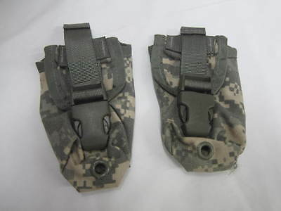Lot of 2   NEW US Military Issue ACU Flashbang Grenade Pouch MOLLE II  *