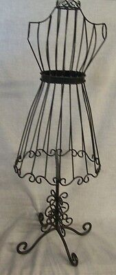 """Store Display Fixtures NEW BODY FORM JEWELRY DISPLAY 29"""" tall Black Finish"""