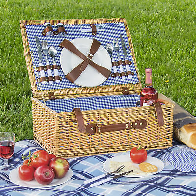 BCP 2 Person Picnic Basket - Brown