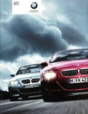2006 06 BMW M5 M6 Series original sales Brochure