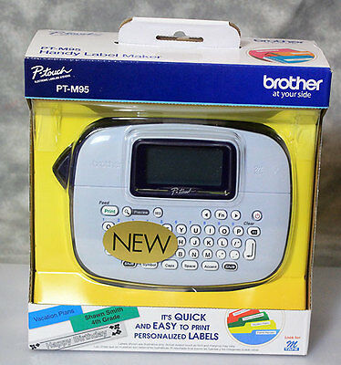 Brother PT-M95 Handy P-touch Label Printer