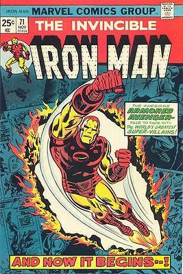 IRON MAN #71 VG, Yellow Claw, George Tuska A, Marvel Comics 1974