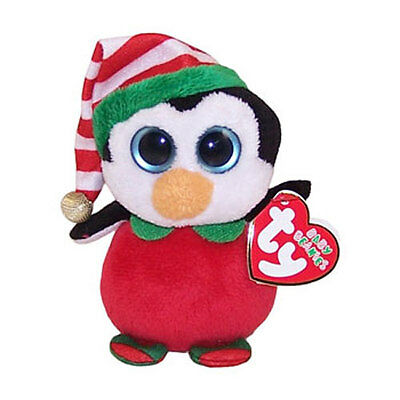 TY Baby Beanie - HAPPY the Penguin (Walgreens Exclusive) (4 inch) - MWMTs