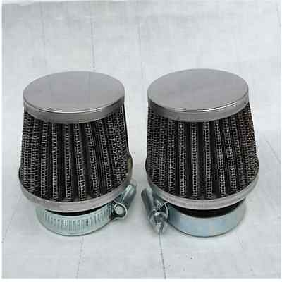 Universal Motorcycle Motorbike 50mm Diameter Air Cleaner Intake Filter MushroomY