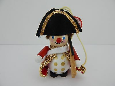 Steinbach Handmade German Wooden Ornament Beefeater or Guard w/ Box & Hangtag