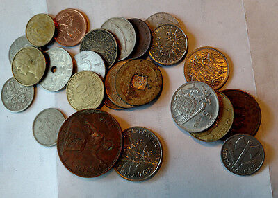 Lot of 25 World Coins / Foreign Coin