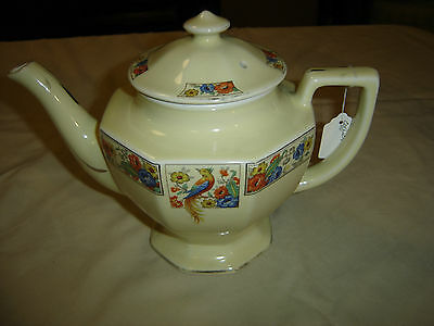 Drip-A-Drop Coffee Pot Made by Forman Bros Floral Bird of Paradise 6865