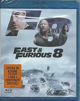Fast and furious 8 (2017) Blu Ray