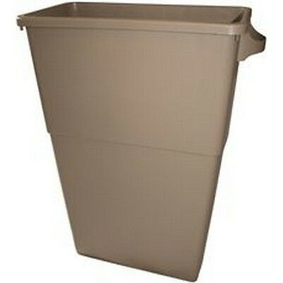 Appeal 100986 Trimline Trash Can, Beige, 23 Gallons NEW