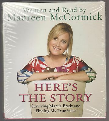 MAUREEN McCORMICK Here's The Story 5 CD AUDIOBOOK 6 Hours NEW/SEALED