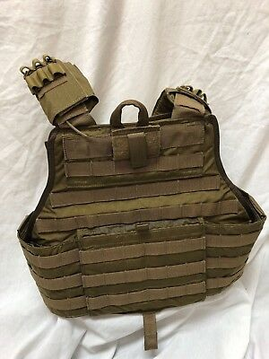 Eagle Industries Releasable Plate Carrier w/Cummerbund Coyote L/XL CIRAS