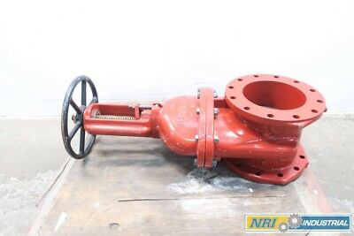 New Mueller R23606L 10 In 250 Iron Flanged Fire Wedge Gate Valve D568604