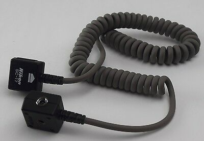 OEM Nikon SC-17 Remote TTL Coiled Flash Sync Cord SKU 32