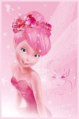 Disney's Tinkerbell Tink In Pink Poster 61x91.5cm