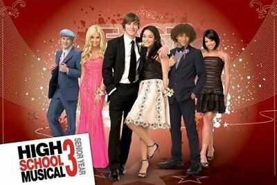 New Prom Time! High School Musical 3 Poster