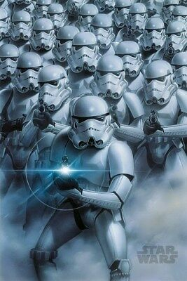 New Star Wars Stormtroopers Attack Poster