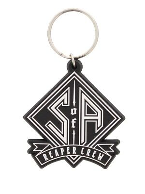 Sons of Anarchy Reaper Crew SoA Rubber Keychain