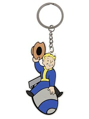 Fallout 4 Bomber Skill Keychain Keyring