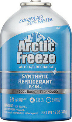 Interdynamics AF3, Artic Freeze Refrigerant R134a With Leak Sealer 12oz