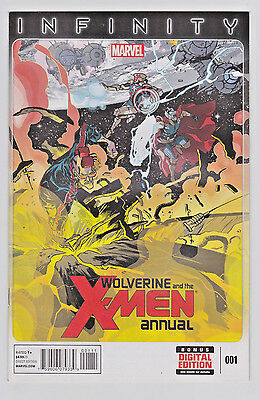 Wolverine and the X-Men Annual #1 1st print 2013 Marvel Infinity Avengers Thanos