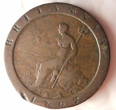 1797 GREAT BRITAIN PENNY - Cartwheel - Excellent High Value Coin - Lot #712