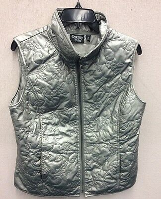 Women's size med cute zip up vest by Onque Casual -:)