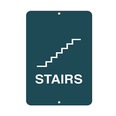 Stairs Style 1 Business Sign Stair Signs Aluminum METAL Sign