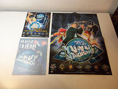 2003 YU YU HAKUSHO Card Game Promo Kit POSTER STORE SIGN & WINDOW STICKER