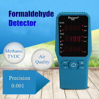 Professional Formaldehyde Detector Indoor Air Quality Tester Room Home Check