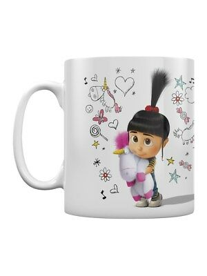 Despicable Me 3 Unicorn Doodle White Mug