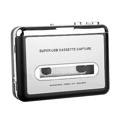 Tape to PC Super USB Cassette to MP3 CD Converters Capture Audio Music Players