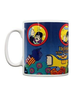 The Beatles Yellow Submarine Portholes White Mug