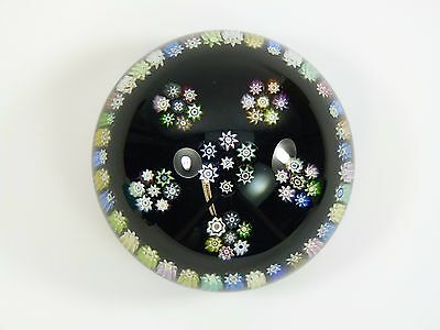 PERTHSHIRE Paperweight - Large Patterned Millefiori weight - PP88