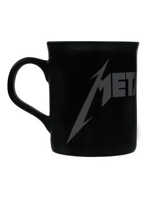 Metallica - Grey Logo Black Mug