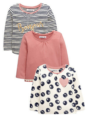 Ladybird Pack Of Three Long Sleeved Tops