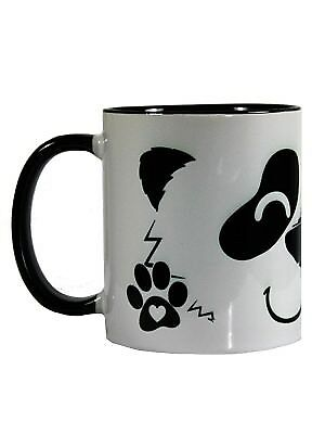 New Happy Panda Two-Tone Mug