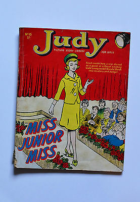 Vintage 1960s Judy Picture Story Library Magazine Comic No. 16 Very Rare