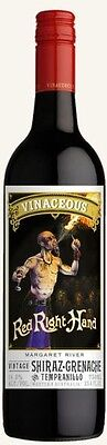 Vinaceous Red Right Hand Shiraz Grenache Tempranillo 2015 (12 x 750mL), WA.