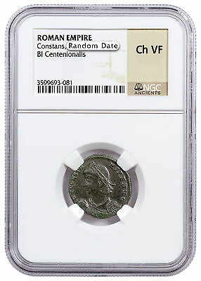 Roman Empire, Random Billon Centenionalis (3rd-5th Cent. AD) NGC Ch. VF SKU47147
