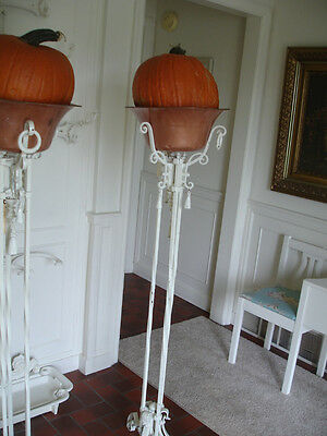 Victorian Antique Fern Stand B*metal*gorgeous*with Copper Pot*sale