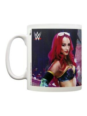 WWE Sasha Banks White Mug