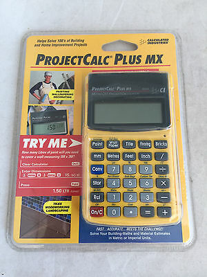 Calculated Industries ProjectCalc Plus MX DIY Project Calculator Construction