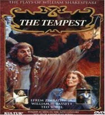 The Plays of William Shakespeare, Vol. 9-The Tempest by Efrem Zimbalist Jr. NEW