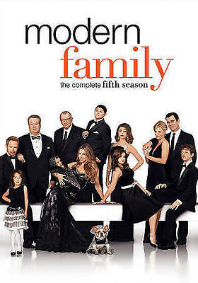 Modern Family: The Complete Fifth Season (DVD, 2014, 3-Disc Set) NEW